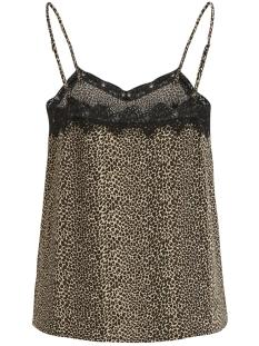 objleo lace singlet 102 div 23030138 object top black/leopard aop