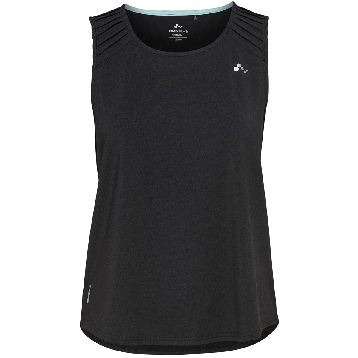 onpshoko sl training top 15165405 only play sport top black