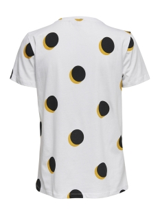 onldotti reg s/s print box co jrs 15173734 only t-shirt bright white/anytime1