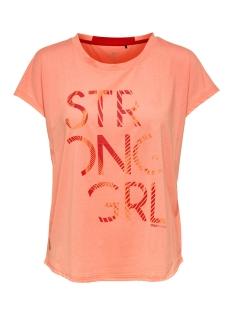 Only Play Sport shirt onpEMILIA LOOSE SS TRAINING TEE 15165440 Neon Orange/ W PARADIS
