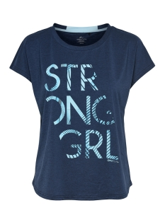 Only Play Sport shirt onpEMILIA LOOSE SS TRAINING TEE 15165440 Blue Nights/ W SEA ANGEL