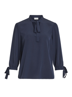 Vila Blouse VIBOWLY 3/4 TOP 14050611 Navy Blazer