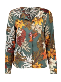 Vero Moda Blouse VMIVY FLOWER LS SHIRT FX 10220850 Laurel Wreath/FLOWER