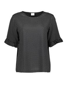 jdyiggy 2/4 top wvn 15174602 jacqueline de yong t-shirt black/small cloud dancer