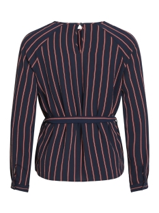 objleonie l/s top i. 102 div 23030137 object blouse sky captain/striped