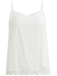 Vila Top VICAVA LACE SINGLET - NOOS 14044577 Cloud Dancer