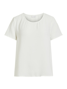 Vila T-shirt VILAIA S/S TOP - NOOS 14049862 Cloud Dancer