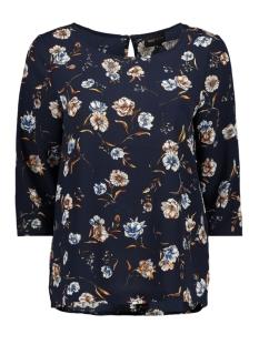 onyelva 3/4 aop top wvn 15169326 only t-shirt night sky/flower
