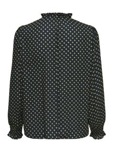 jdyinnes l/s blouse wvn 15169637 jacqueline de yong blouse sky captain/green shee