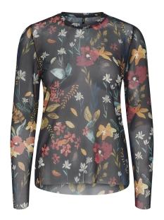 Only T-shirt onlSTINE L/S O-NECK TOP JRS 15168137 Blue Graphite/PREPPY FLOW