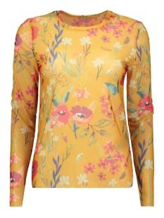 Only T-shirt onlSTINE L/S O-NECK TOP JRS 15168137 Mango Mojito/PREPPY FLOW