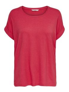 Only T-shirt onlMOSTER S/S O-NECK TOP NOOS JRS 15106662 Geranium