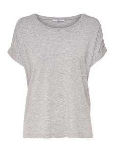 Only T-shirt onlMOSTER S/S O-NECK TOP NOOS JRS 15106662 Light Grey Melange