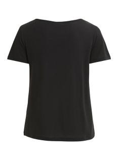 vinoel s/s v-neck t-shirt-noos 14047596 vila t-shirt black