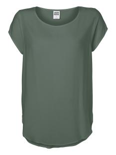 Vero Moda T-shirt VMBOCA SS BLOUSE COLOR 10104053 Laurel Wreath