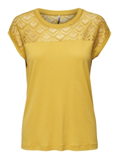 onlNICOLE S/S MIX TOP NOOS 15151008 Yolk Yellow