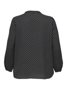 carluxcecilia ls top aop 1 15172706 only carmakoma t-shirt black/cloud dancer/dots