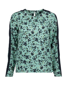 Vero Moda T-shirt VMGERDA NICKY LS TOP WVN 10211783 Wasabi/GERDA AOP