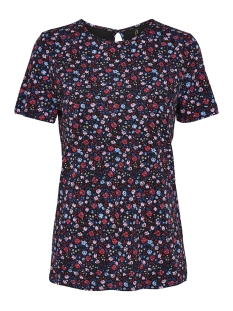 Only T-shirt onlNYLA S/S AOP TOP JRS 15173644 Black/DITSY FLOWER