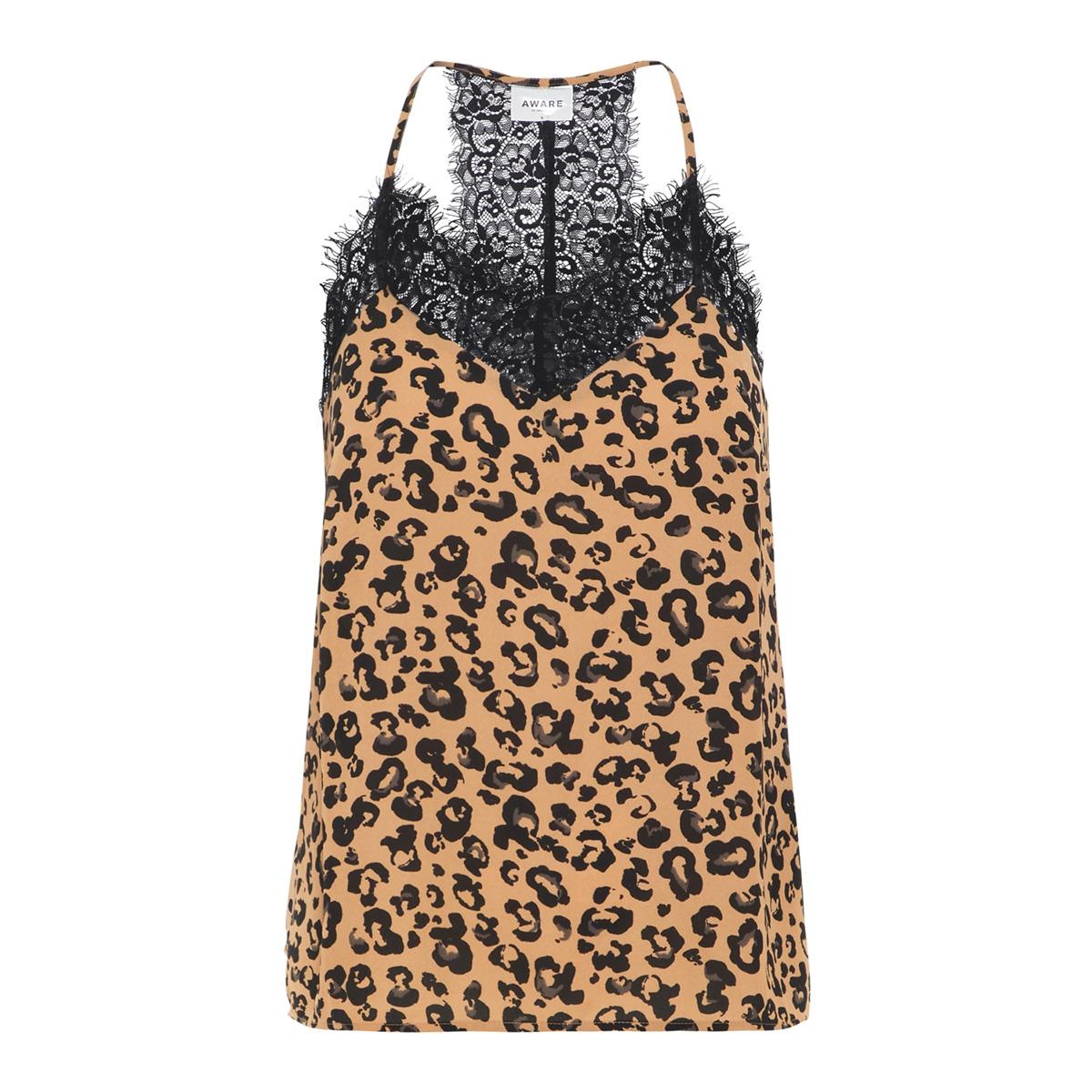 vmgreen lace singlet vma 10216637 vero moda top indian tan/anni