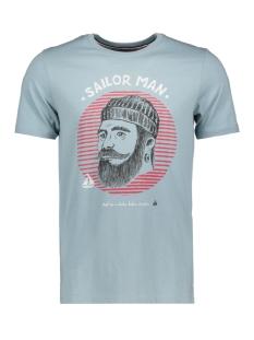 Produkt T-shirt PKTAUK ANCHOR TEE SS 12148571 Stone Blue
