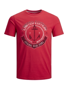 Produkt T-shirt PKTAUK ANCHOR TEE SS 12148571 True Red