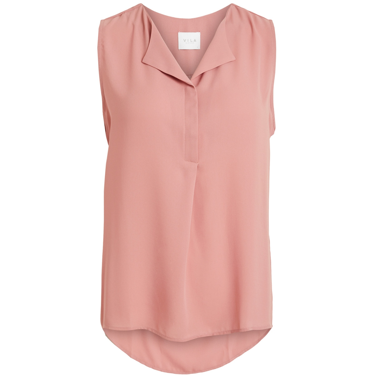 vilucy s/l top - noos 14044615 vila top brandied apricot