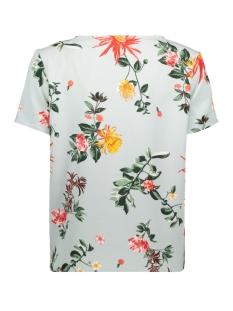 vilaia s/s top - fav lux 14049949 vila t-shirt blue haze/iliane