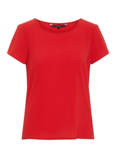 Vero Moda T-shirt VMSASHA SS TOP COLOR 10215420 Chinese Red