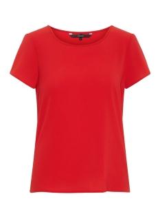 Vero Moda T-shirt VMSASHA SS TOP COLOR 10215420 Chinese Red