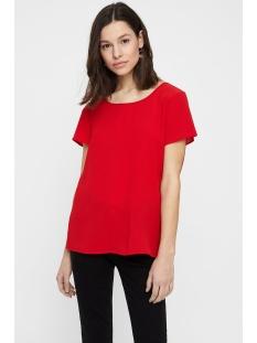 vmsasha ss top color 10215420 vero moda t-shirt chinese red