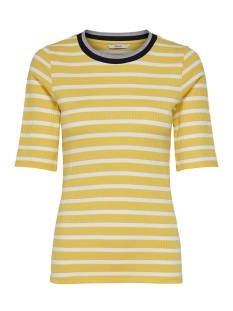 Only T-shirt onlKILMA RIB 2/4 TOP JRS 15171470 Solar Power/CD STRIPES