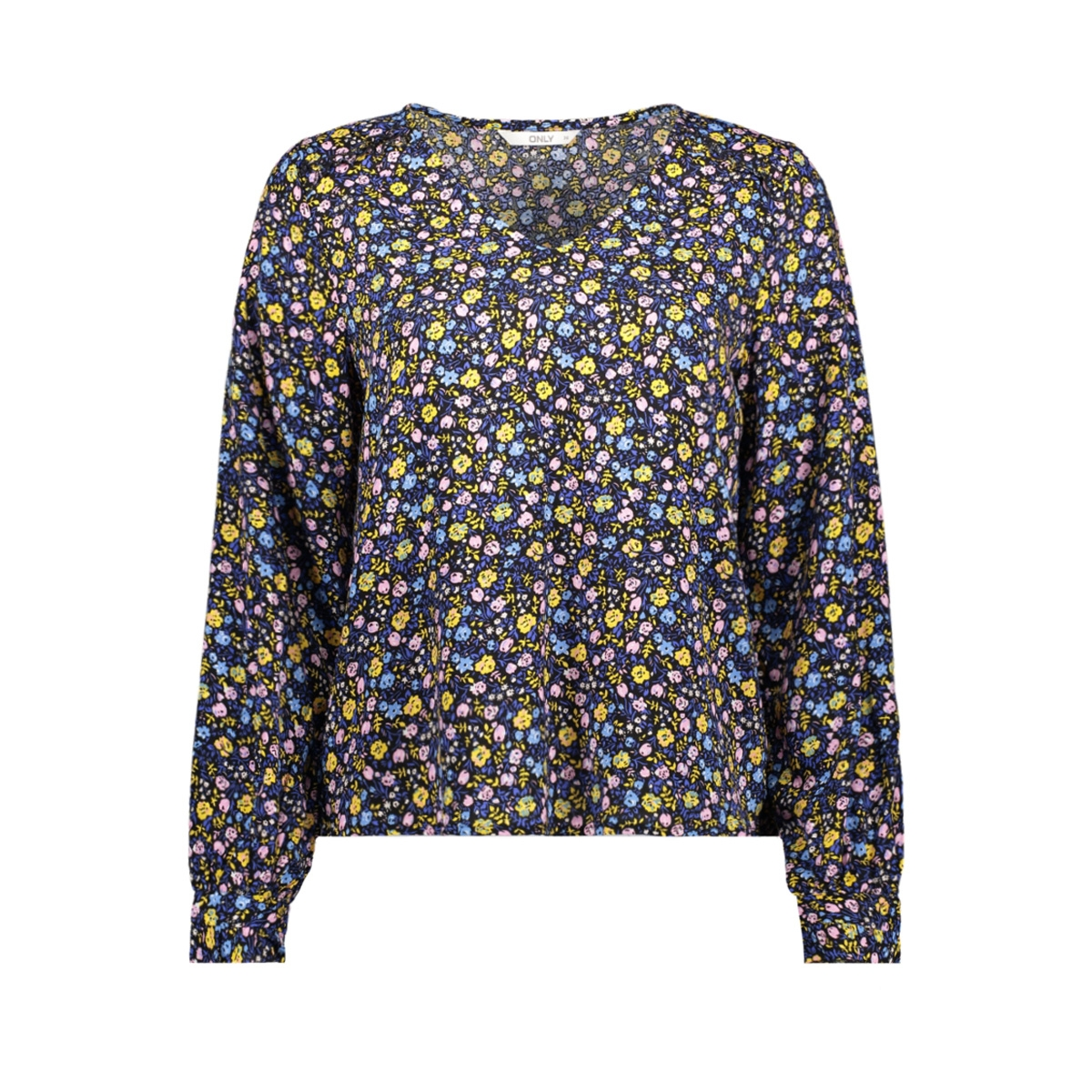 onlmaya ls top wvn 15171877 only blouse solar power/ditsy flower