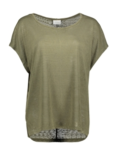 Vila T-shirt VISUMI S/S TOP - FAV 14045223 Ivy Green