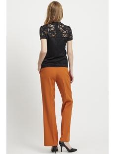 vistasia s/s lace top - noos 14049852 vila t-shirt black