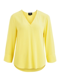 Object T-shirt OBJBAY 3/4 TOP SEASONAL 23028024 Maize