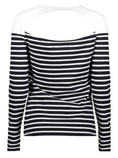 g60107mt callie twist back top superdry t-shirt eclipse navy stripe