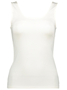 Vila Top VISURFACE U-NECK NEW TANK TOP 14052466 Snow White