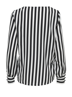 onluma ls top wvn 15172714 only blouse black/white