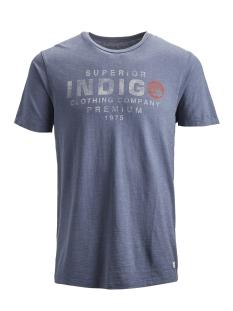 Jack & Jones T-shirt jprKEITH BLU. TEE SS CREW NECK 12154622 Vintage Indigo