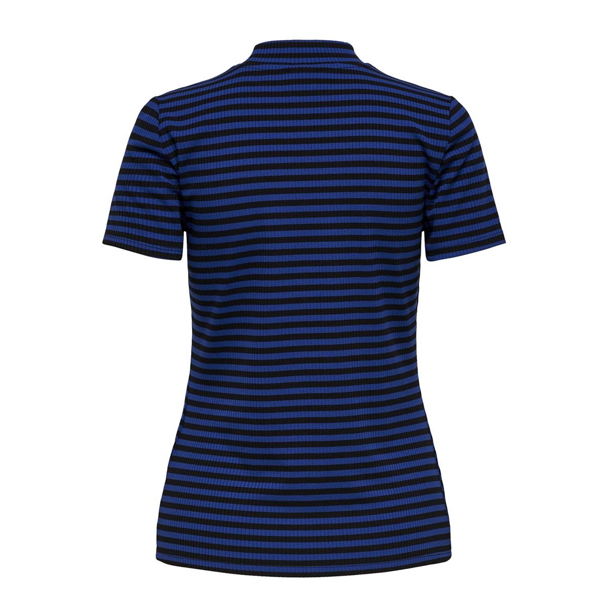 jdysonja s/s high neck top jrs 15168364 jacqueline de yong t-shirt surf the web/black