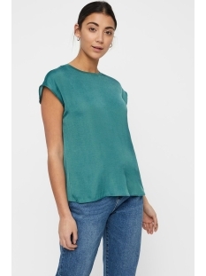 nmhai s/l top x 27008094 noisy may t-shirt mallard green