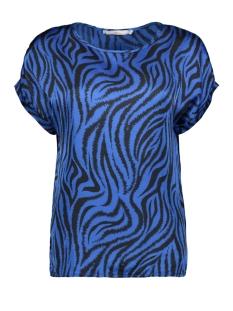 Aaiko T-shirt MERLE ZEBRA VIS 520 OCEAN BLUE