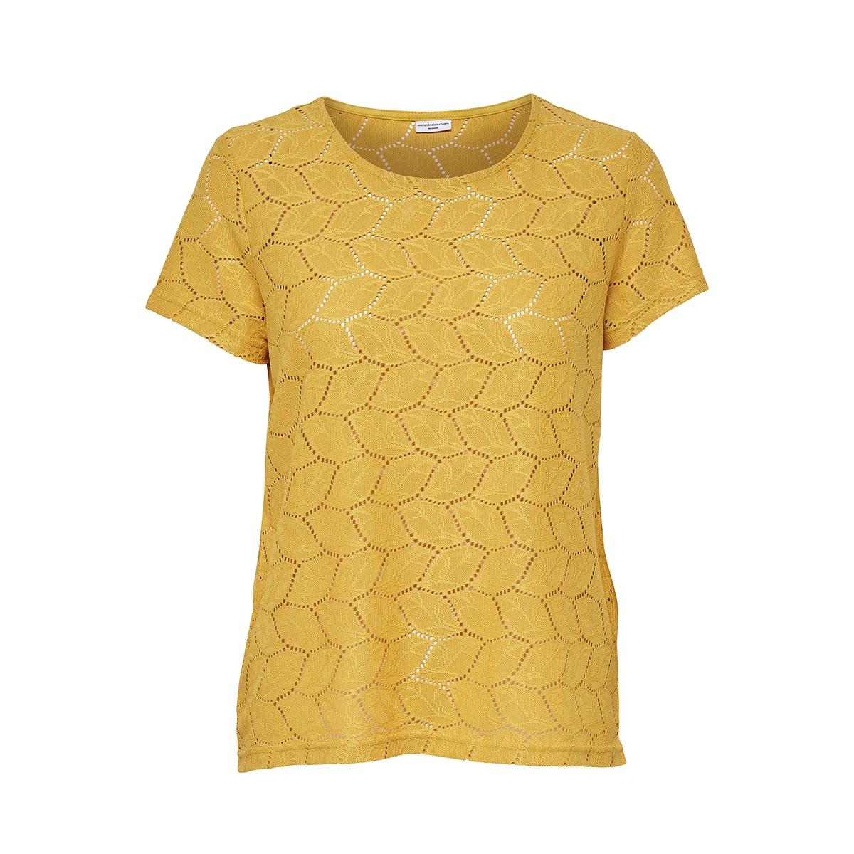 jdytag s/s lace top jrs rpt2 noos 15152331 jacqueline de yong t-shirt green sheen