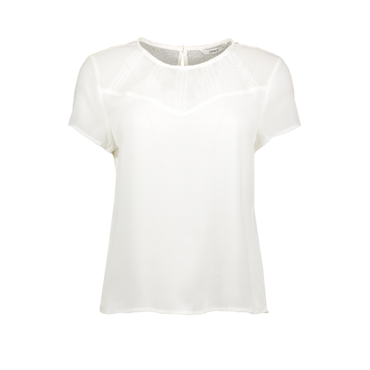 onlvigga s/s top  wvn 10306725 only t-shirt cloud dancer