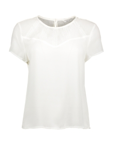 Only T-shirt ONLVIGGA S/S TOP  WVN 10306725 Cloud Dancer