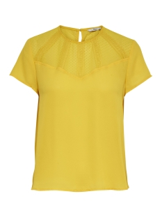 Only T-shirt ONLVIGGA S/S TOP  WVN 15172072 Solar Power