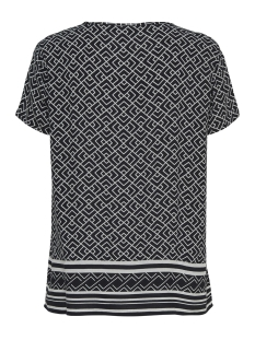 jdyjackie s/s top wvn tu 15171180 jacqueline de yong t-shirt black/cloud dancer