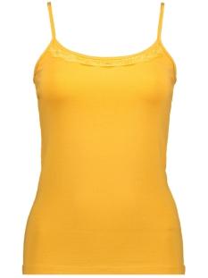 Jacqueline de Yong Top JDYAVA SINGLET LACE TOP JRS 15175908 Spicy Mustard