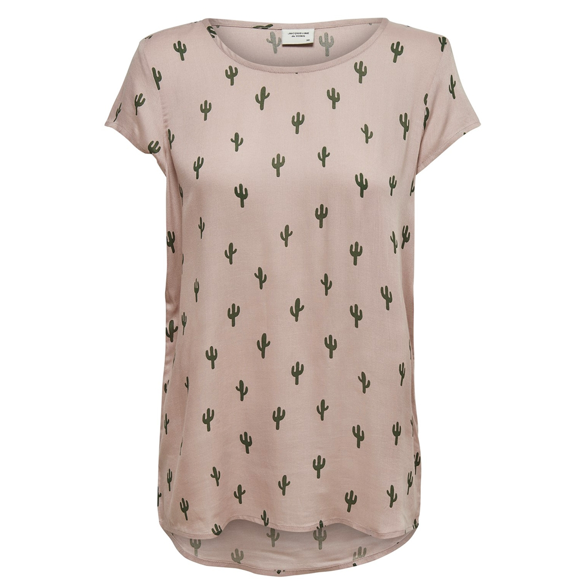jdymarli s/s top wvn 15173944 jacqueline de yong t-shirt shadow gray/thyme cactus